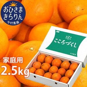 5%還元 大分県産オレンジ 家庭用 おひさまきらりん 2.5kg (清見タンゴール/温州みかん/あまくさオレンジ) 有機肥料 温室 今村農園【送料無料】【お歳暮ギフトクーポン】