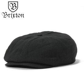 ブリクストン キャスケット BROOD ブラック BRIXTON ぼうし ブランド おしゃれ 無地 シンプル メンズキャップ レディースキャップ メンズ帽子 レディース帽子 メンズレディースキャップ メンズレディース帽子 秋冬 黒