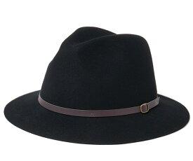 キャバレロ ロング ブリム ハット ファイン ウール フェルト エステポナ ブラック 帽子 CABALLERO LONG BRIM HAT FINE WOOL FELT ESTEPONA BLACK