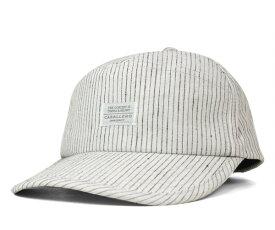 キャバレロ カーブバイザーキャップ ムリエル リネン ストライプ ホワイト 帽子 CABALLERO 7 PANEL CURVE VISOR CAP MURIEL LINEN STRIPE WHITE メンズ 【返品・交換対象外】