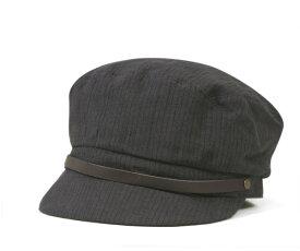 キャバレロ マリンキャップ トレド リネン ストライプ グレー 帽子 CABALLERO MARINE CAP TOLEDO LINEN STRIPE GRAY メンズ 【返品・交換対象外】