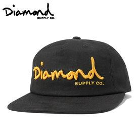 ダイヤモンドサプライ キャップ スナップバック スクリプト UNCONSTRUCTED ブラック DIAMOND SUPPLY 【返品・交換対象外】