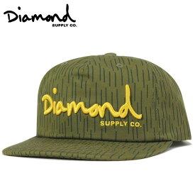 ダイヤモンドサプライ キャップ スナップバック DECONSTRUCTED グリーン DIAMOND SUPPLY【返品・交換対象外】
