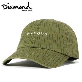 ダイヤモンドサプライ キャップ ストラップバック LEEWAY SPORTS グリーン DIAMOND SUPPLY【返品・交換対象外】