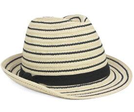 ハットアタック ストローハット 麦わら帽子 フェドラ ブラックストライプ 帽子 HAT ATTACK STRAW HAT BLACK STRIPE FEDORA BLACK STRIPE ストローハット メンズ【返品・交換対象外】
