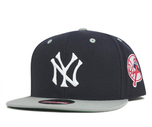 アメリカンニードル(American Needle)スナップバック キャップ ニューヨークヤンキース ブロック ヘッド ネイビー 帽子 SNAPBACK CAP NEW YORK YANKEES BLOCKHEAD NAVY メンズ