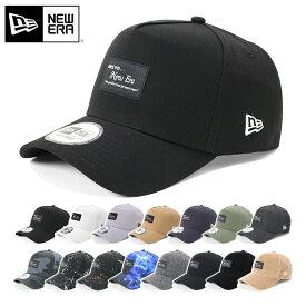 ニューエラ NEW ERA キャップ 9FORTY A-FRAME ブラックパッチ 帽子 ぼうし おしゃれ シンプル ストリート ブランド サイズ調整 大きいサイズ