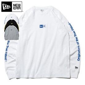 ニューエラ New Era Tシャツ ロングスリーブ 長袖 オリジネーターズ オブ ザ トゥルー フィテッド コットン 綿