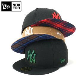 ニューエラ New Era キャップ TARTAN タータンチェック ニューヨーク ヤンキース 59FIFTY 帽子