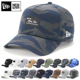 ニューエラ NEW ERA キャップ 9FORTY A-FRAME ブラックパッチ スプラッシュペイント 帽子 ぼうし おしゃれ シンプル ストリート ブランド サイズ調整 大きいサイズ