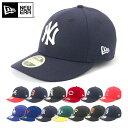 ニューエラ NEW ERA キャップ ヤンキース LOW PROFILE 59FIFTY CAP MLB AUTHENTIC ニューヨークヤンキース ベースボー…