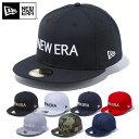 ニューエラ NEW ERA 帽子 キャップ 59FIFTY BOLD ブラック 野球帽 ベースボールキャップ フラット ロゴ CAP サイズ 展…