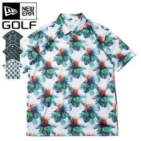 ニューエラ NEW ERA ゴルフ GOLF ポロシャツ テック TECH POLO SHIRT ワンポイント 半袖 UVカット 消臭 春夏 メンズ レディース ゴルフ