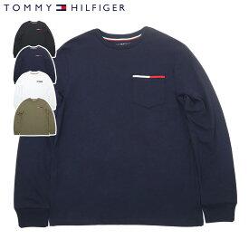 トミーヒルフィガー TOMMY HILFIGER アイコン ポケット 長袖Tシャツ ICON POCKET L/S TEE