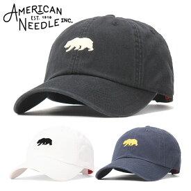 aebcdd406ffa6 アメリカンニードル キャップ サイズ調整 CALIFORNIA REPUBLIC MINI LOGO AMERICAN NEEDLE 帽子 ぼうし ロー キャップ メンズ