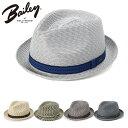 ベイリー 麦わら帽子 MANNES BAILEY 帽子 ストローハット ぼうし メンズ帽子 レディース帽子 ブランド むぎわら おし…