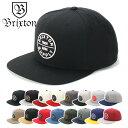ブリクストン キャップ スナップバック BRIXTON 帽子 ぼうし ブランド おしゃれ ストリート ブリクストンキャップ メンズキャップ レディースキャップ メンズ レディース メンズレディース帽子