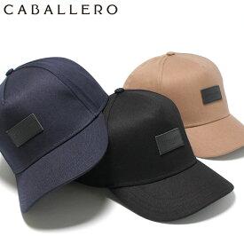 キャバレロ キャップ スナップバック CUENCA LEATHER PATCH CABALLERO ブラック ネイビー キャメル ブランド おしゃれ 秋冬 メンズキャップ レディースキャップ メンズ帽子 レディースキャップ 黒