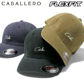 キャバレロ キャップ FLEXFIT CAP CABALLERO ブラック ネイビー メンズキャップ レディースキャップ メンズ帽子 レディース帽子 黒 紺 ぼうし ブランド おしゃれ シンプル