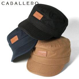キャバレロ ワークキャップ BRION HERRINGBONE CABALLERO ブラック ネイビー ブラウン メンズキャップ レディースキャップ ブランド おしゃれ 秋冬 メンズ帽子 レディース帽子 黒 ぼうし