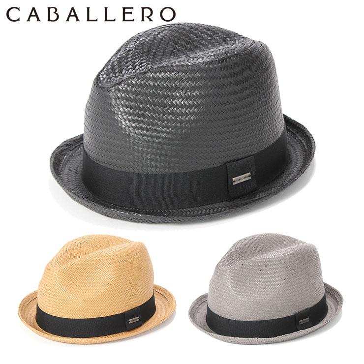 キャバレロ 麦わら帽子 フェドラハット CASARES PAPER STRAW CABALLERO || 中折れ帽 リゾート 海 サマーハット 中折れ帽子 中折れ 中折れハット ブランド メンズ帽子 おしゃれ 夏 麦わら ストローハット ハット メンズ 帽子