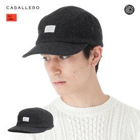キャバレロ ジェットキャップ ジローナ ヴィンテージ ツイード チャコール 帽子 CABALLERO JET CAP GIRONA VINTAGE TWEED CHARCOAL メンズ