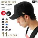 NEW ERA(ニューエラ) ワークキャップ WM-01 ダックキャンバス | NEW ERA CAP DUCK CANVAS | 全11色 帽子 メンズ ミリ...