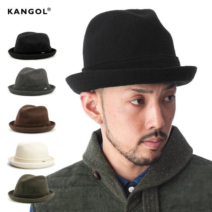 カンゴール 中折れハット ウール プレーヤー 全5色 KANGOL WOOL PLAYER HAT | 帽子 メンズ レディース ウールハット #HA:F [RV]【UNI】