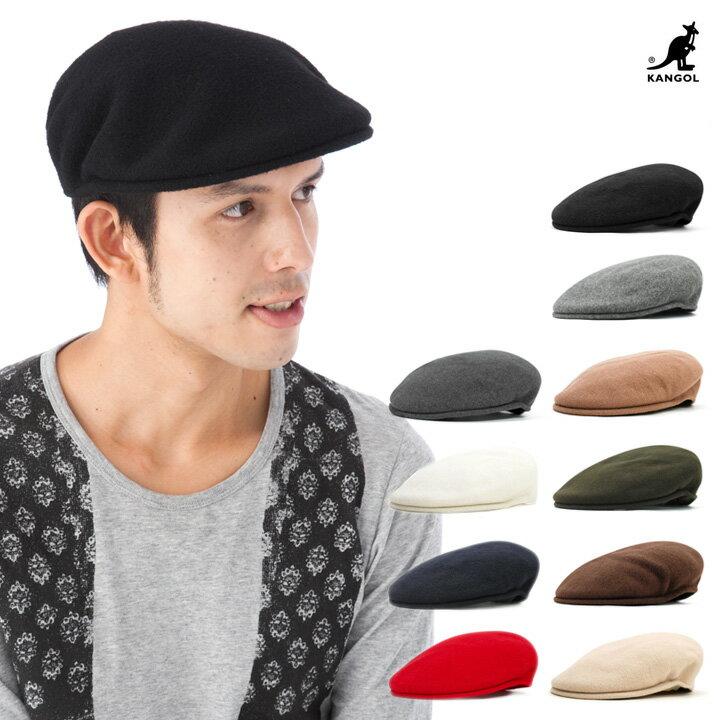 帽子 カンゴール ハンチング ウール 504   KANGOL WOOL HUNTING   全10色 帽子 メンズ レディース #HT [RV]【UNI】