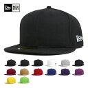 ポイント10倍 NEW ERA(ニューエラ) キャップ 59FIFTY 無地 ベーシック | 帽子 メンズ レディース | 全14色 帽子 メ…