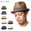 麦わら帽子 メンズ ピーターグリム ストローハット 中折れ ハット デップ 全7色 PETER GRIMM STRAW HAT DEPP | 帽子 …