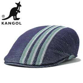 f820c701fc8750 カンゴール ハンチング帽 507 TRAVEL STRIPE ネイビー KANGOL ハンチング 春夏 夏 ハンチング帽子 大きいサイズ