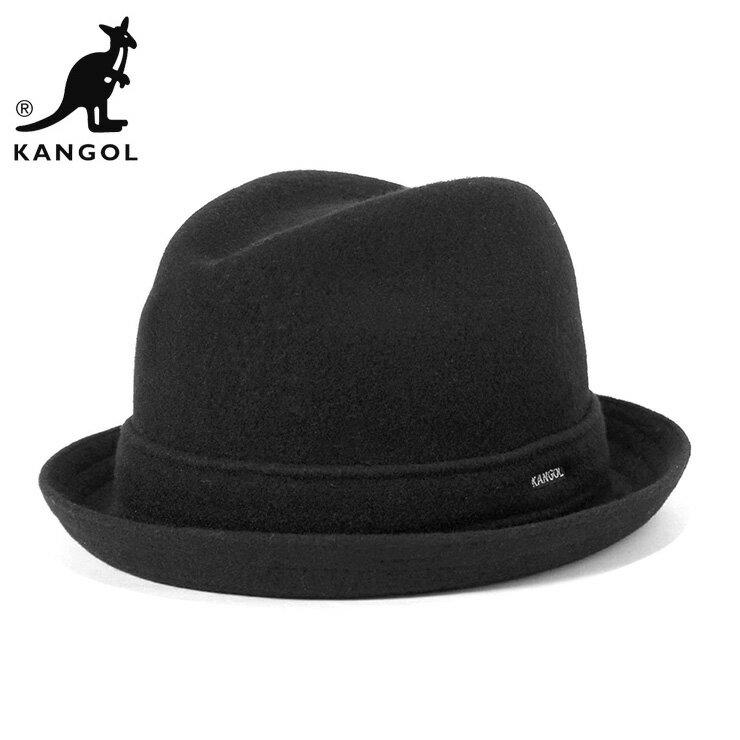 カンゴール ハット ウール PLAYER ブラック KANGOL [RV]【UN-】