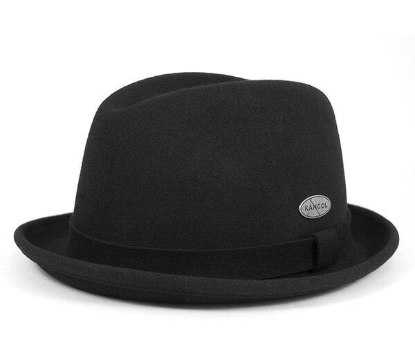 カンゴール ハット ライトフェルト プレイヤー ブラック フェルトハット 帽子 KANGOL HAT LITEFELT PLAYER BLACK 【返品・交換対象外】