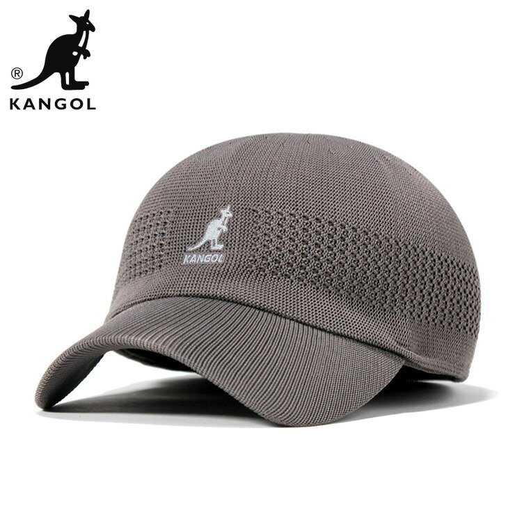 カンゴール スペース キャップ トロピック ベントエアー グレー KANGOL 帽子 メンズ レディース 【返品・交換対象外】