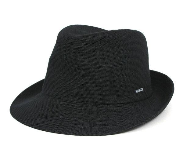 カンゴール トリルビー ハット バンブー アーノルド ブラック 帽子 KANGOL TRILBY HAT BAMBOO ARNOLD BLACK 大きいサイズ メンズ【返品・交換対象外】