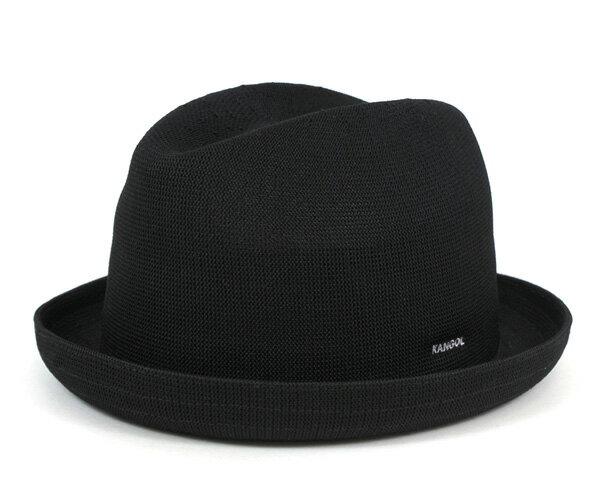 カンゴール ハット トロピック プレイヤー ブラック KANGOL 帽子 メンズ レディース [RV]【UN-】
