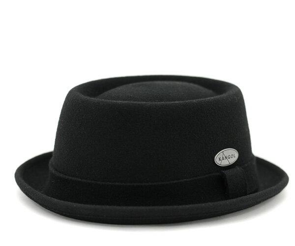 カンゴール ハット ライトフェルト ポークパイ ブラック 帽子 KANGOL HAT LITEFELT PORK PIE BLACK メンズ 【返品・交換対象外】