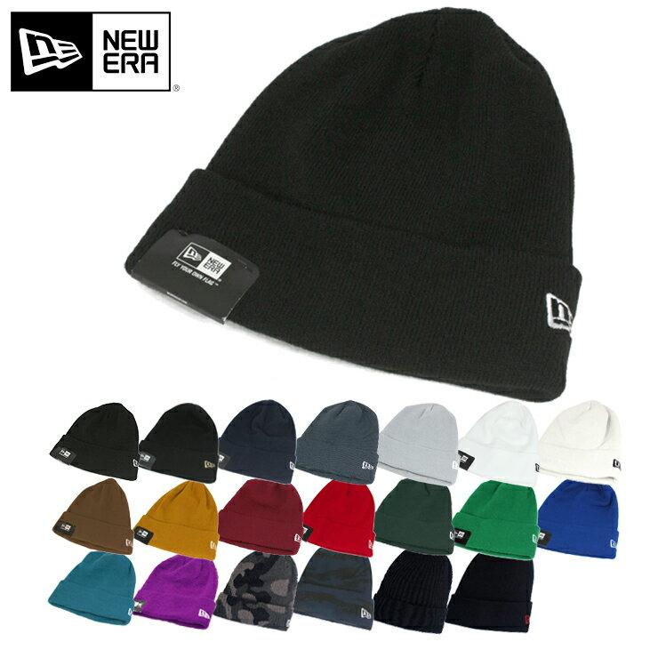 ニューエラ ニット帽 ベーシックカフ NEW ERA NEWERA 帽子 メンズ レディースニットキャップ 全20色 【YP】