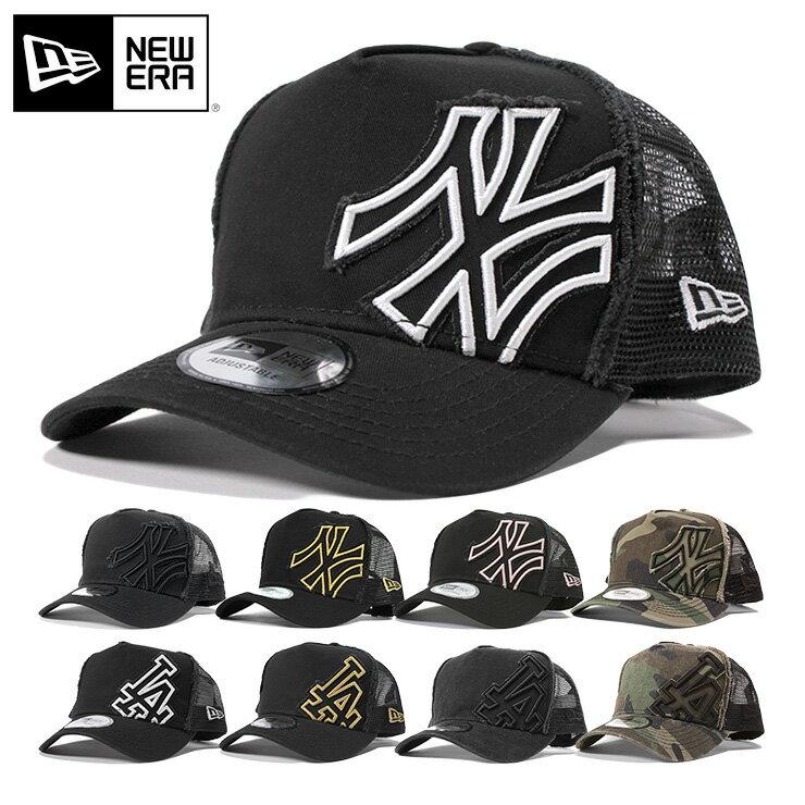 ニューエラ メッシュキャップ 9FORTY MLB ニューヨークヤンキース Dフレーム ダメージ加工 | NEW ERA NEWERA 帽子 メンズ レディース | 全9色 || ぼうし メッシュ 野球帽 ブランド ヤンキース ニューエラメッシュキャップ ニューエラキャップ キャップ [RV][JS]【UNI】