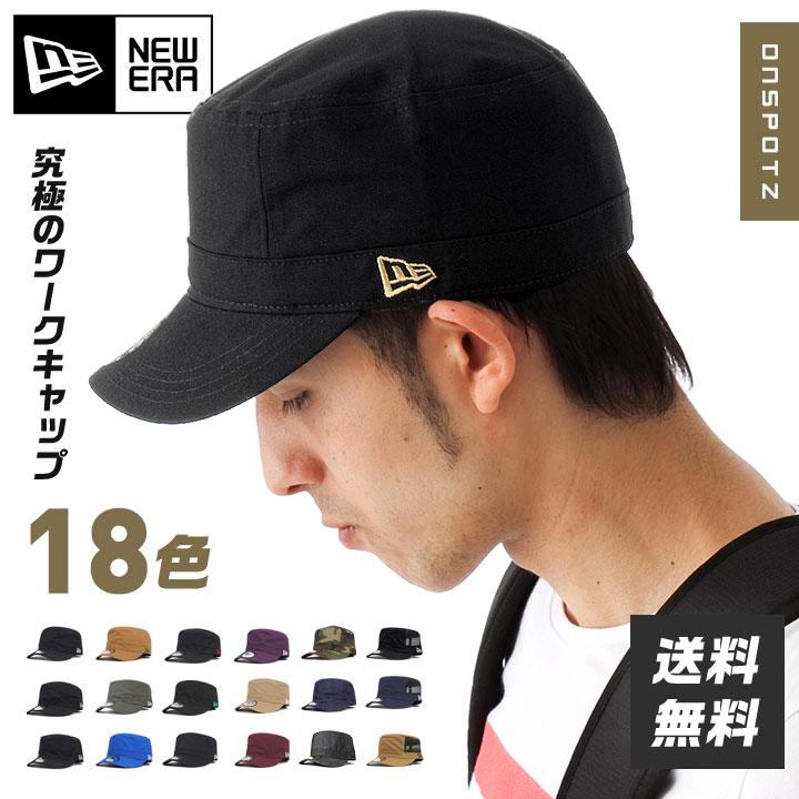 ニューエラ ワークキャップ WM-01 | NEW ERA NEWERA 帽子 メンズ レディース ミリタリーキャップ | 全18色 [RV][JS]【UNI】PO10