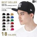 ニューエラ キャップ 59FIFTY newera ニューヨークヤンキース ブラック 帽子 メンズ レディース ニューエラキャップ フラットキャップ ストリート メンズキャップ 野球帽 ベースボールキャップ new era ヤンキース ぼうし ニューエラー メンズキャップ帽子 黒 白 赤