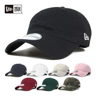 新時代低水洗的棉帶回帽子帽所有 6 都色紐埃爾 9TWENTY STRAPBACK 章洗棉 [新時代帽男子紐約洋基隊新時代,10P01Oct16。