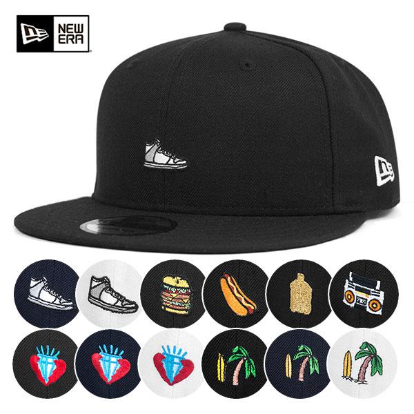 ニューエラ キャップ スナップバック 9FIFTY ミニロゴNEW ERA NEWERA 帽子 メンズ レディース全13種類 サイズ調整 【返品・交換対象外】