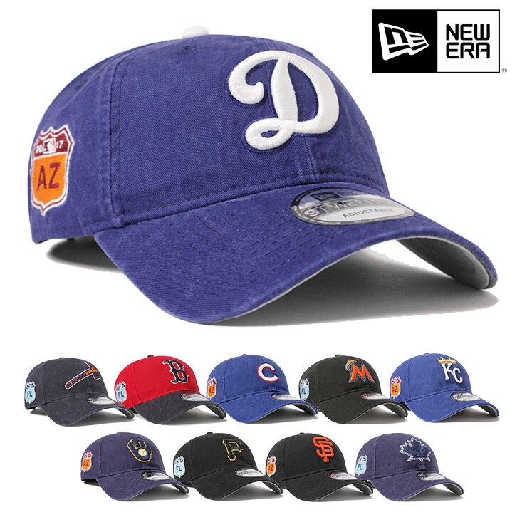 ニューエラ NEW ERAキャップ ストラップバック 9TWENTY EMBROIDERY MLB ウォッシュ加工帽子 メンズ レディース全10色【返品・交換対象外】