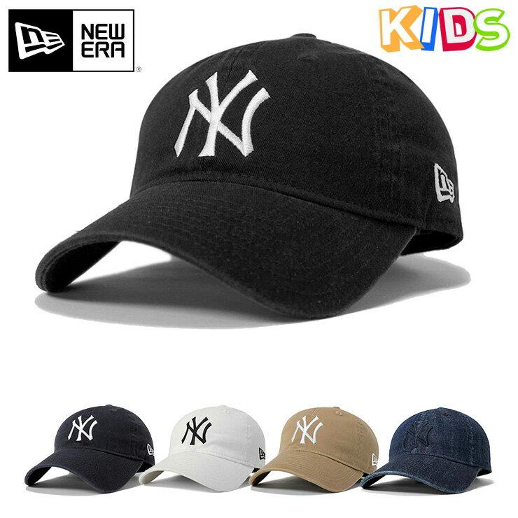 送料無料 ニューエラ キッズ キャップ サイズ調整 9TWENTY MLB ニューヨークヤンキース NEW ERA KIDS 帽子 ヤンキース 黒 スナップバックキャップ キッズキャップ newera     ベースボールキャップ スナップバック ニューエラキャップ