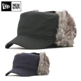 ニューエラ キャップ 耳あて付き レンジ THE RANGE ウールツイル NEW ERA ブラック ネイビー ぼうし 秋冬 ブランド おしゃれ 無地 ニューエラキャップ メンズキャップ レディースキャップ メンズ帽子 レディース帽子 黒 防寒