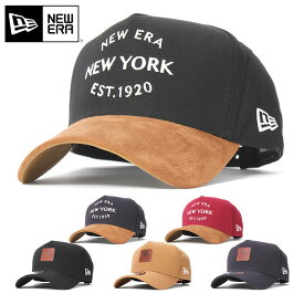ニューエラ キャップ スナップバック 9FORTY A-FRAME DUCK CANVAS NEW ERA ニューエラキャップ メンズキャップ レディースキャップ ブランド おしゃれ メンズ帽子 レディース帽子 無地 秋冬 黒