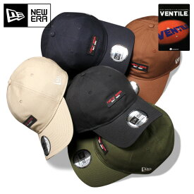 オンスポッツ別注 ニューエラ キャップ サイズ調整 9THIRTY VENTILE OX RUBBER PATCH NEW ERA ブラック ぼうし ブランド おしゃれ ストリート new era メンズキャップ newera メンズ帽子 レディース帽子 黒