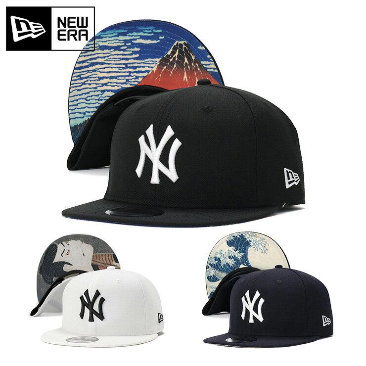 ニューエラ キャップ スナップバック 9FIFTY 浮世絵 MLB ニューヨークヤンキース NEW ERA